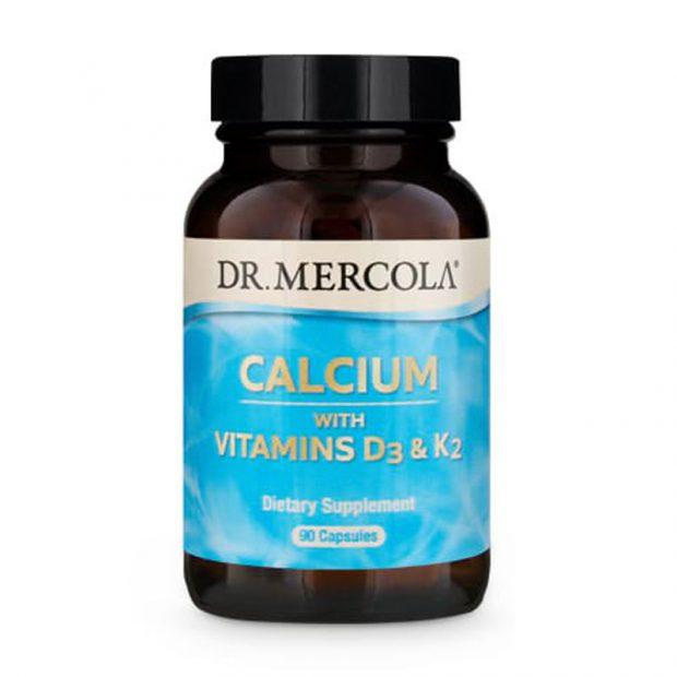 dr-mercola-calcium-with-vitamins-d3-and-K2-90-capsules