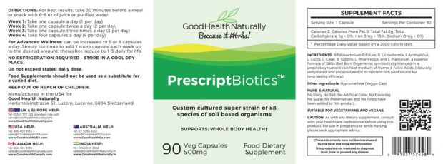 good-health-naturally-prescript-probiotics-Supplement-Facts
