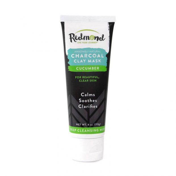 redmond-facial-mud charcoal-clay-mask-cucumber